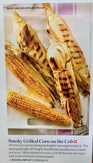 smoky grilled corn on the c